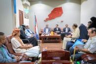 لجنة الحوار الجنوبي تلتقي رئاسة الجالية الجنوبية بالسعودية ودول الخليج