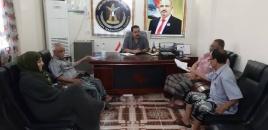 لجنة الإغاثة والأعمال الإنسانية بانتقالي لحج تعقد اجتماعاً طارئاً