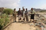 فريق إعلامي من انتقالي شبوة يزور منطقة خورة المنكوبة ويتلمس معاناة المواطنين