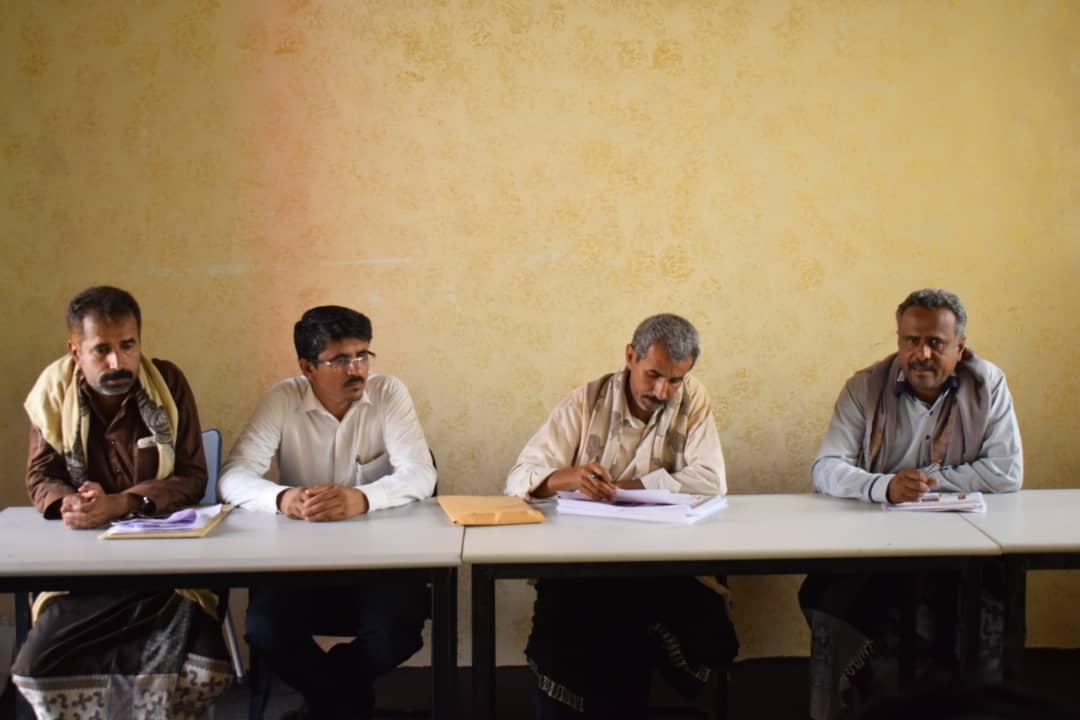 القيادة المحلية للمجلس الانتقالي بمديرية عتق تعقد اجتماعها الدوري