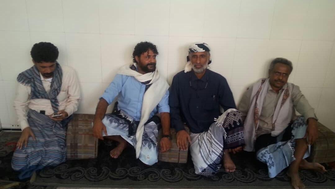 رئيس انتقالي شبوة يلتقي قائد المقاومة الجنوبية بالعاصمة عدن