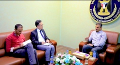 الأمين العام يبحث مع نائب مسؤول الشؤون السياسية للمبعوث الأممي التطورات في عدن والجنوب ونتائج حوار جدة