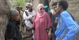 لجنة الإغاثة العليا بالانتقالي تطلع على الاضرار التي خلفتها الأمطار في لحج