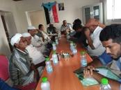 الهيئة التنفيذية لانتقالي مديرية غيل باوزير تعقد اجتماعا استثنائياً بحضور رئيس انتقالي المحافظة