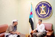 الأمين العام يطّلع على جاهزية قوات الحزام الأمني بالمنطقة الوسطى في أبين