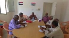 الهيئة التنفيذية لانتقالي دارسعد تعقد اجتماعها الدوري
