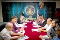 الأمانة العامة تناقش استعدادات إحياء عيد 14 أكتوبر