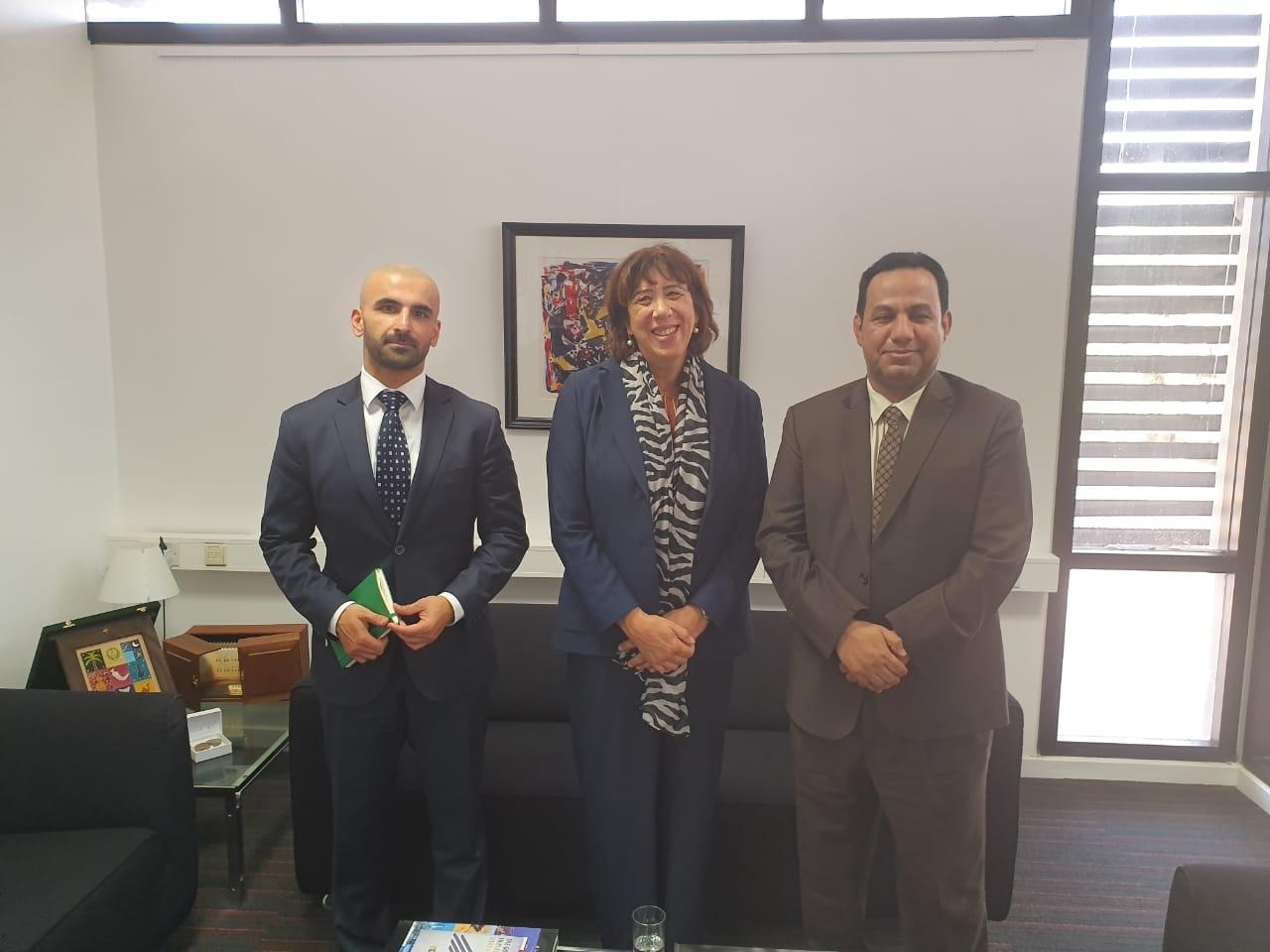 ممثل خارجية الانتقالي عادل الشبحي يلتقي سفيرة مملكة هولندا لدى اليمن