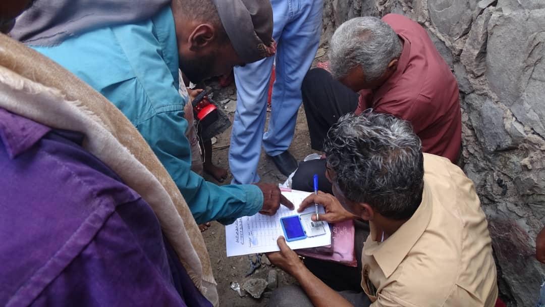 لجنة الإغاثة بانتقالي الشيخ عثمان تقدم مساعدات للأسر المتضررة من حريق حي الإرسال بالممدارة