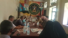 الهيئة التنفيذية لانتقالي الضالع تعقد اجتماعها الدوري وتُشيد بالانتصارات العسكرية