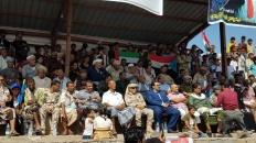 قيادة الانتقالي بردفان تنظم مهرجاناً خطابياً وكرنفالياً بمناسبة ذكرى 14 أكتوبر