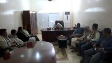 رئيس انتقالي لحج  يزور محكمة استئناف المحافظة ويطلع على سير العمل فيها