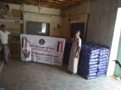 لجنة الإغاثة بانتقالي الديس الشرقية تدشن توزيع السلال الغذائية على أسر الشهداء والمحتاجين بالمديرية