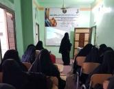 الإدارة الاجتماعية بانتقالي حضرموت تنظم دورة توعوية صحية للنساء بالديس الشرقية