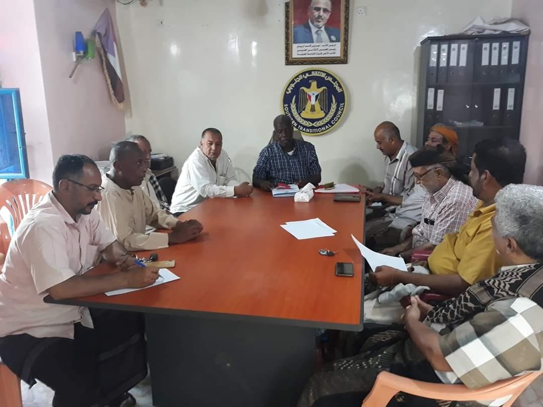 الهيئة التنفيذية لانتقالي التواهي تعقد اجتماعها الدوري