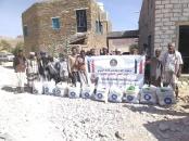 انتقالي يبعُث بحضرموت يدشن توزيع السلال الغذائية على المحتاجين في المديرية