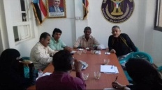تنفيذية انتقالي المنصورة تعقد اجتماعاً استثنائياً مع رؤساء المراكز بالمديرية