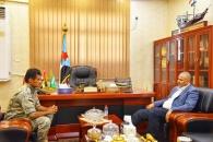 الرئيس الزُبيدي يشيد بيقظة الحزام الأمني بلحج ويطلع على تطورات العمليات العسكرية شمال الضالع