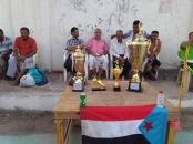 برعاية انتقالي العاصمة عدن .. دارسعد يتوج بكأس الاستقلال الوطني لكرة القدم الخماسية