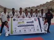 """برعاية الرئيس الزُبيدي.. انطلاق منافسات التايكوندو ضمن """"مهرجان حضرموت الرياضي الأول"""""""