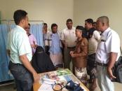 رئيس انتقالي أبين يتفقد سير العمل في مستشفى الرازي بجعار