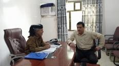 رئيس انتقالي أبين يناقش مع مدير مكتب التأمينات والمعاشات أوضاع المتقاعدين في المحافظة