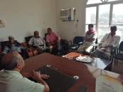 رئيس انتقالي حضرموت يلتقي قيادة نقابة المعلمين الجنوبيين