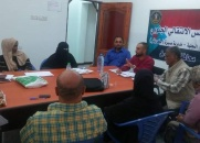 الهيئة التنفيذية لانتقالي صيرة تعقد اجتماعها الدوري
