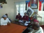 الهيئة التنفيذية لانتقالي خورمكسر تعقد اجتماعها الدوري