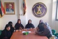 شيخان تترأس اجتماعاً هاماً لإدارة المرأة والطفل في انتقالي العاصمة عدن