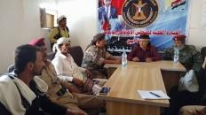 الحوتري يرأس لقاءً تشاورياً لقيادة المقاومة الجنوبية في أبين لتنسيق جهود حفظ الأمن