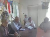 نائب رئيس انتقالي العاصمة عدن يترأس اجتماعاً استثنائياً لتنفيذية انتقالي خورمكسر
