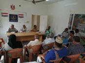 الهيئة التنفيذية لانتقالي دارسعد تعقد اجتماعها الشهري الأول في العام 2020