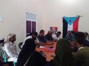 تنفيذية انتقالي الشيخ عثمان تعقد اجتماعها الدوري