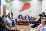 اللواء بن بريك يعقد اجتماعاً بالنواب الجدد في الجمعية الوطنية