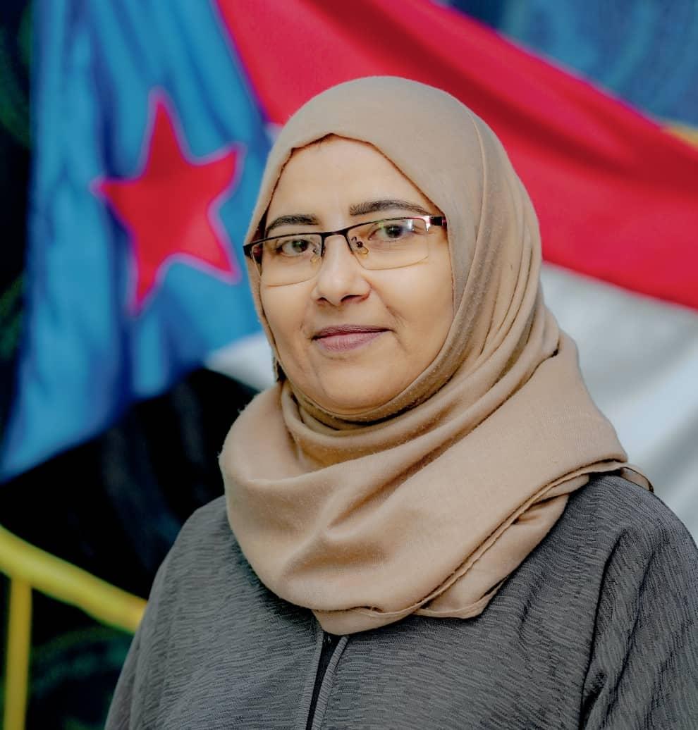 """نيران سوقي لــ """"اليمن العربي"""": نعمل في المجلس الانتقالي على ترسيخ الحقوق وفقآ للقانون الدولي (حوار)"""