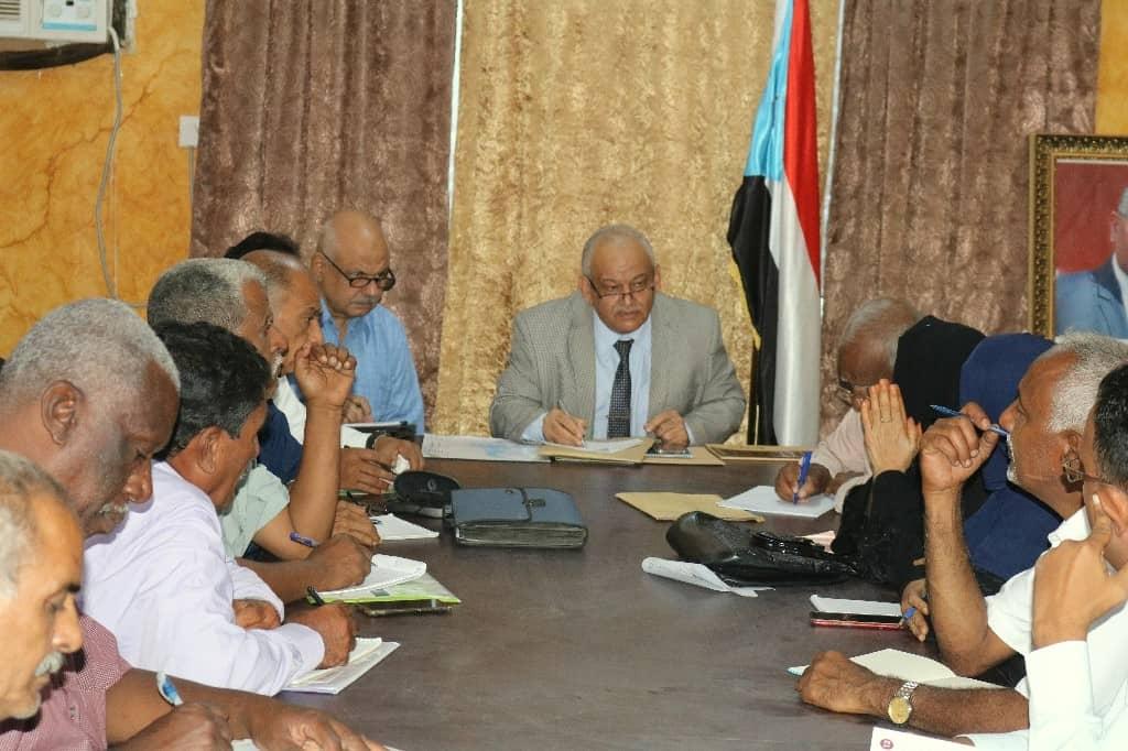 تنفيذية انتقالي العاصمة عدن تعقد اجتماعها الدوري الاعتيادي