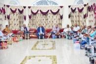 الرئيس القائد يلتقي كتلة حضرموت المشاركة في دورة الجمعية الوطنية