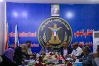 اللواء بن بريك يترأس اجتماعاً استثنائياً للهيئة الإدارية للجمعية الوطنية