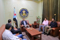 لملس يناقش مع مكتب المبعوث الأممي عدداً من الملفات السياسية