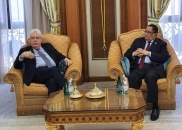 الخبجي يستقبل المبعوث الخاص للأمين العام للأمم المتحدة مارتن غريفيث ويبحث معه آفاق السلام.