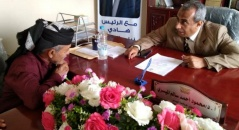 الحوتري يناقش مع رئيس جامعة أبين قضايا أوائل الدفعات وسُبل إخراج المقتحمين للحرم الجامعي
