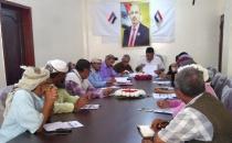 تنفيذية انتقالي لحج تعقد اجتماعها الدوري وتؤكد على ضرورة الاهتمام بقضايا ومعاناة المواطنين