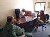العميد الحوتري يتفقد سير العمل بمحكمة زنجبار الابتدائية