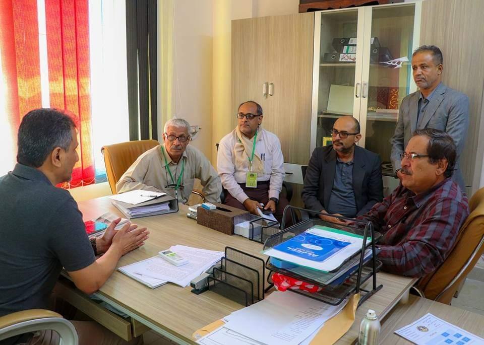 الأمين العام يترأس اجتماعاً لبحث آليات حماية الآثار والمعالم التاريخية
