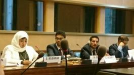 وفد المجلس الانتقالي في جنيف ينظم فعاليات حقوقية تزامنا مع اجتماعات مجلس حقوق الإنسان