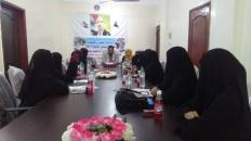 إدارة المرأة والطفل بانتقالي لحج تعقد اللقاء التشاوري الأول لمدراء الإدارات في المديريات