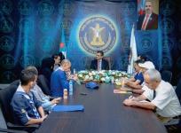 الأمين العام يلتقي بفريق الكشافة الجنوبيين في العاصمة عدن