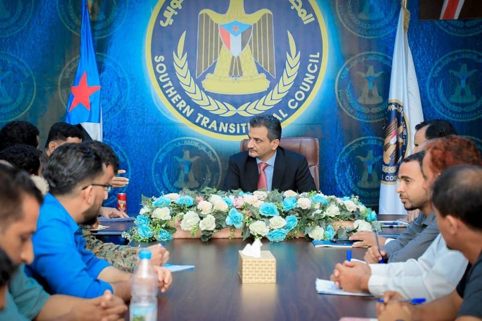 الأمين العام يلتقي بمندوبي الطواقم الطبية في القوات المسلحة الجنوبية