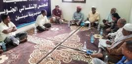 نائب رئيس انتقالي حضرموت يطّلع على أبرز احتياجات القيادة المحلية بمديرية سيئون